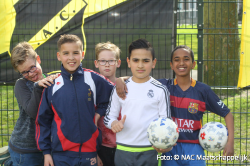 NAC voetbal clinic